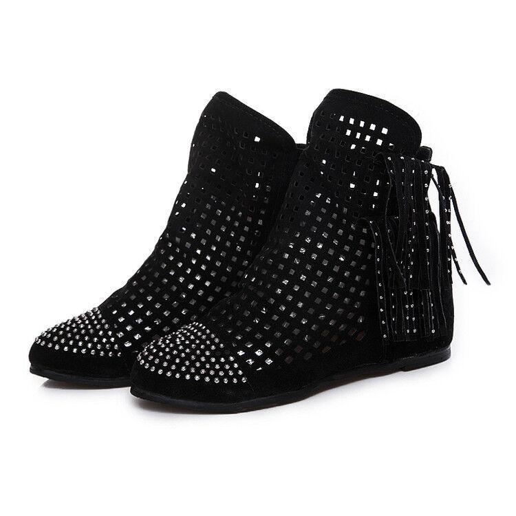 botas bajo zapatos suela cm negro 9791 cómodo cómodo como piel 9791 negro 7b41d6