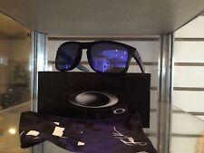 New Oakley Julian Wilson Holbrook Matte Black w/Violet Iridium Lens OO9102-26