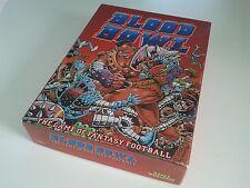 Complete BLOOD BOWL VINTAGE 1st EDITION BOARD GAME 1986 - WARHAMMER