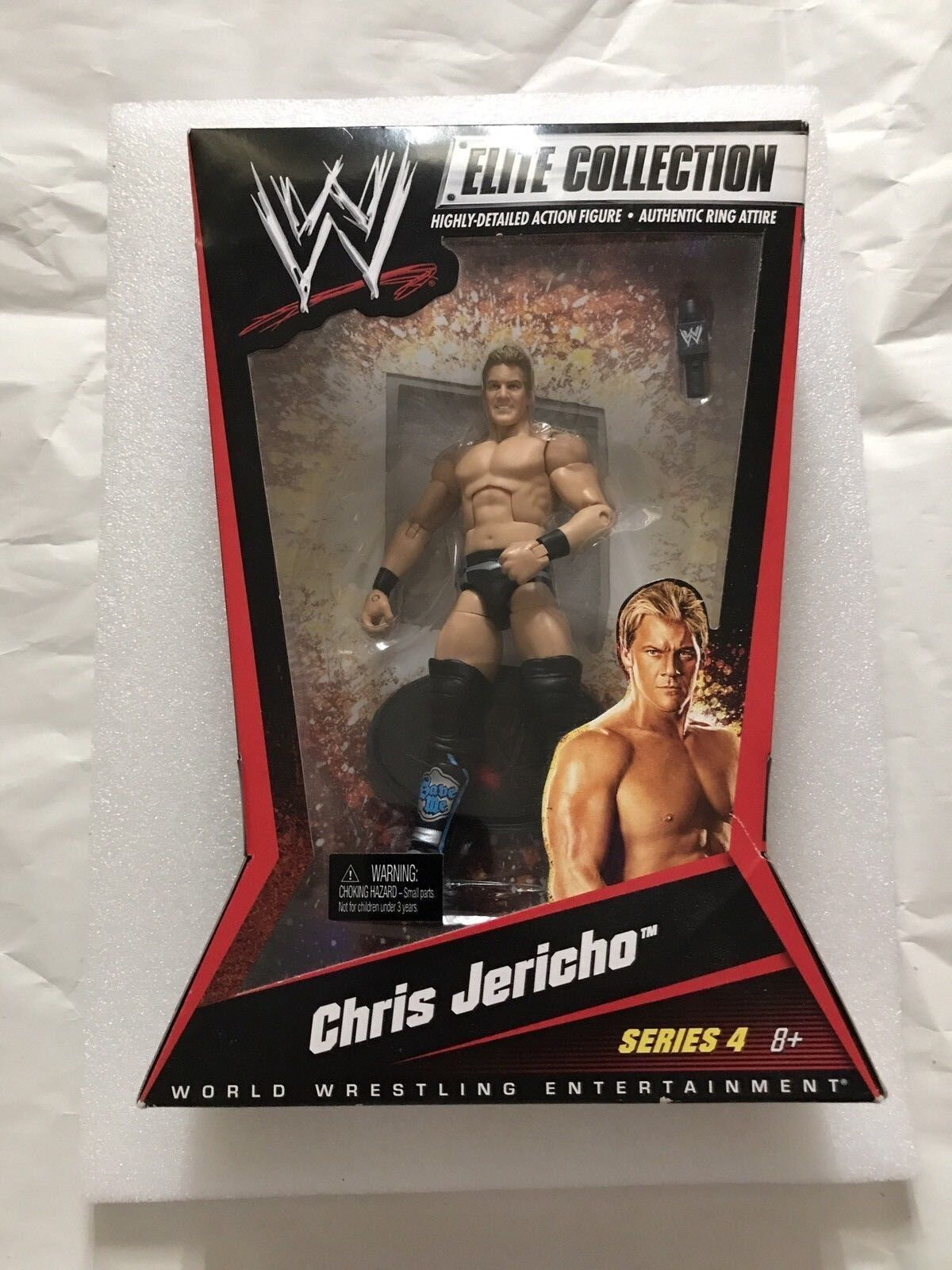 WWE MATTEL Elite Collection Series 4 CHRIST JERICHO cifra blu Variant Y2J NUOVO