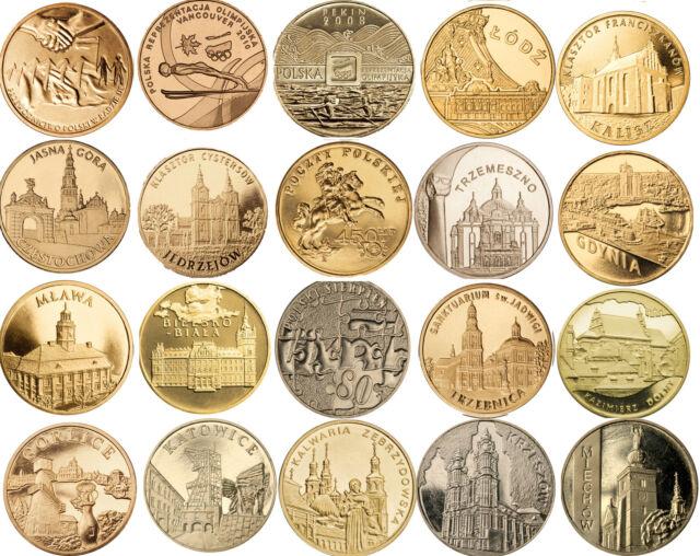 Poland 2 Zlote Nordic Gold 2008 2010 Polish Coin