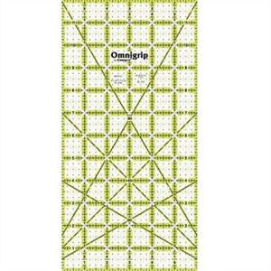 """Omnigrip By Omnigrid Non-slip Quilter/'s Ruler 6/""""x12/""""- Prym 6 x 12inch Non"""