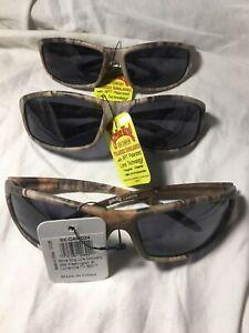 Strike King Mossy Oak Sunglasses- 3 Pair Lot!