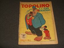 """ALBO D'ORO N.17 I° EDIZIONE 1946 TOPOLINO E I TOPI D'ALBERGO - MOLTO BUONO """"U"""""""