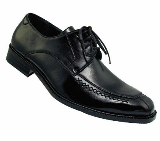 Men's Casual Basic Everyday Work Faux Leather Dress shoes  4801 Black