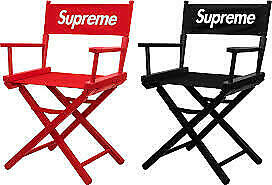 Supreme Director's Chair - PREORDER 100%  REFUND  more discount