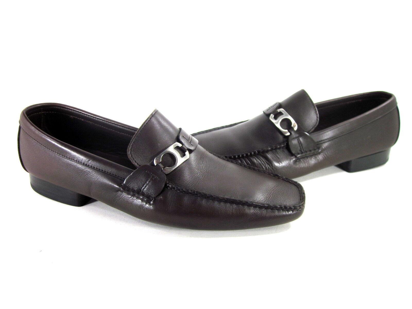 Allen Edmonds Para Hombre Martin Slip-on Zapatos Mocha Cuero nosotros tamaño 11 Mediano