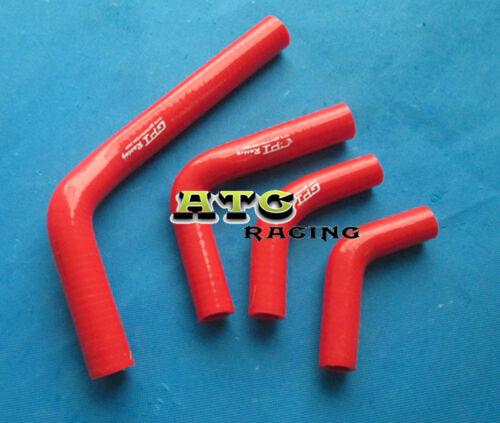 For Honda CRF250 CRF250X CRF250R Silicone Radiator Hose 04-09 05 06 07 08 RED