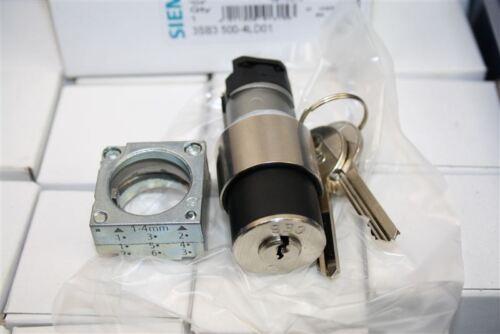 Siemens Betätigungselement rund 3SB3500-4LD01 3SB3 500-4LD01 SCHLOSS CES KEY OPE