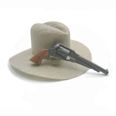 1//6 Battle Gear Toys Revolver Rémington 1858 crosse blanche 891 03 Civil War