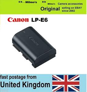 Genuine-Original-Canon-LP-E6-Battery-Pack-EOS-6D-7D-60D-70D-5D-Mark-II-III-2-3