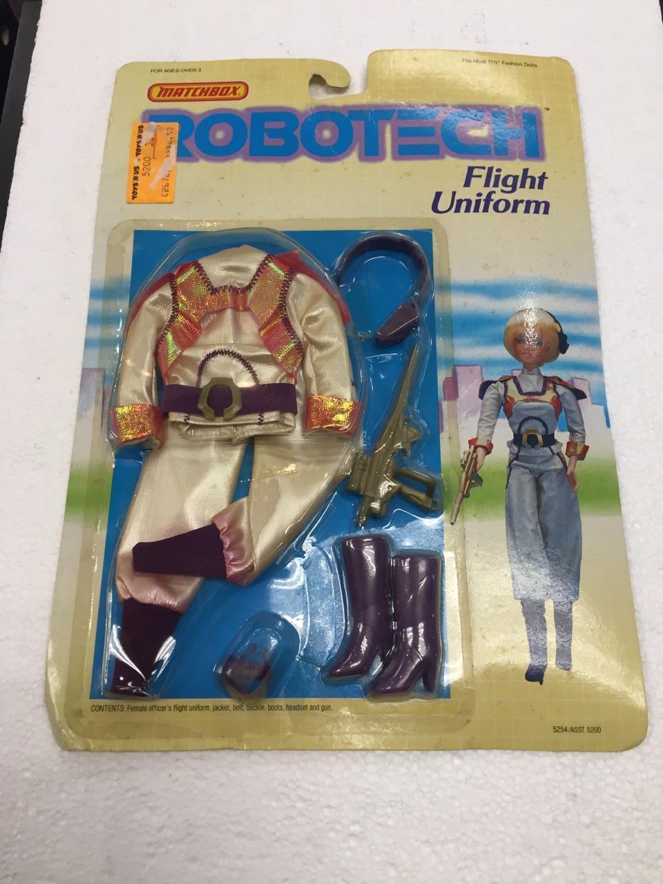 1985 Robotech Flight Uniform by Matchbox