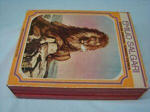 Salgari-Edizione-annotata-romanzi-d-039-Africa-1974-Mondadori