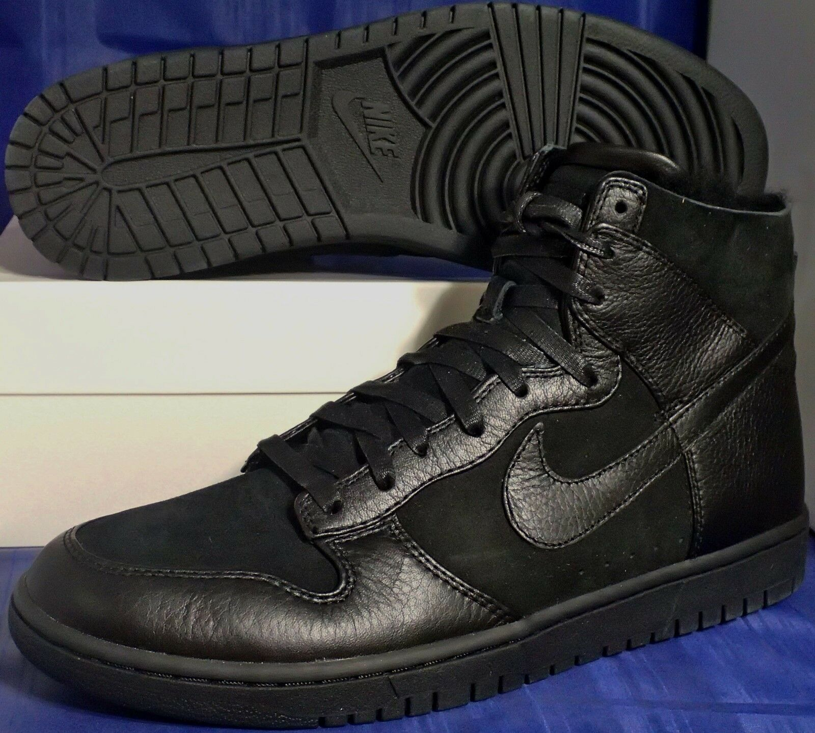 Nike Nike Nike Dunk Lux SP Sherpa nero NikeLab SZ 12 ( 744301-001 ) 6e6b06