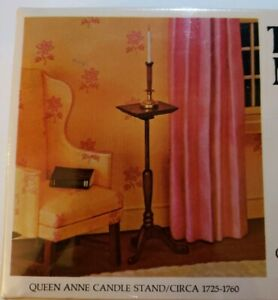 The House Of Miniatures Candle Stand Dollhouse Furniture Kit 40013