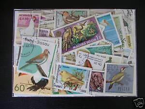 ******* Timbres Oiseaux : 50 Timbres Tous Differents / Stamps Birds ******** Voulez-Vous Acheter Des Produits Autochtones Chinois?