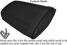 Fibra De Carbono Vinilo Personalizada Para Honda Cbr 600 Rr 07-12 trasera cubierta de asiento solamente