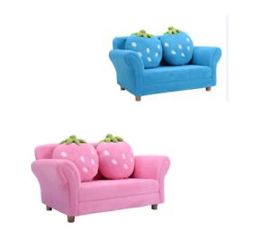 canap sofa enfant 2 oreillers meubles chambre d enfant jeu confort repos ebay. Black Bedroom Furniture Sets. Home Design Ideas