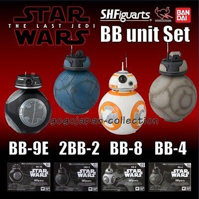 BANDAI S.H Figuarts Star Wars The Last Jedi DROID #01 BB-9E EXCLUSIVE figure