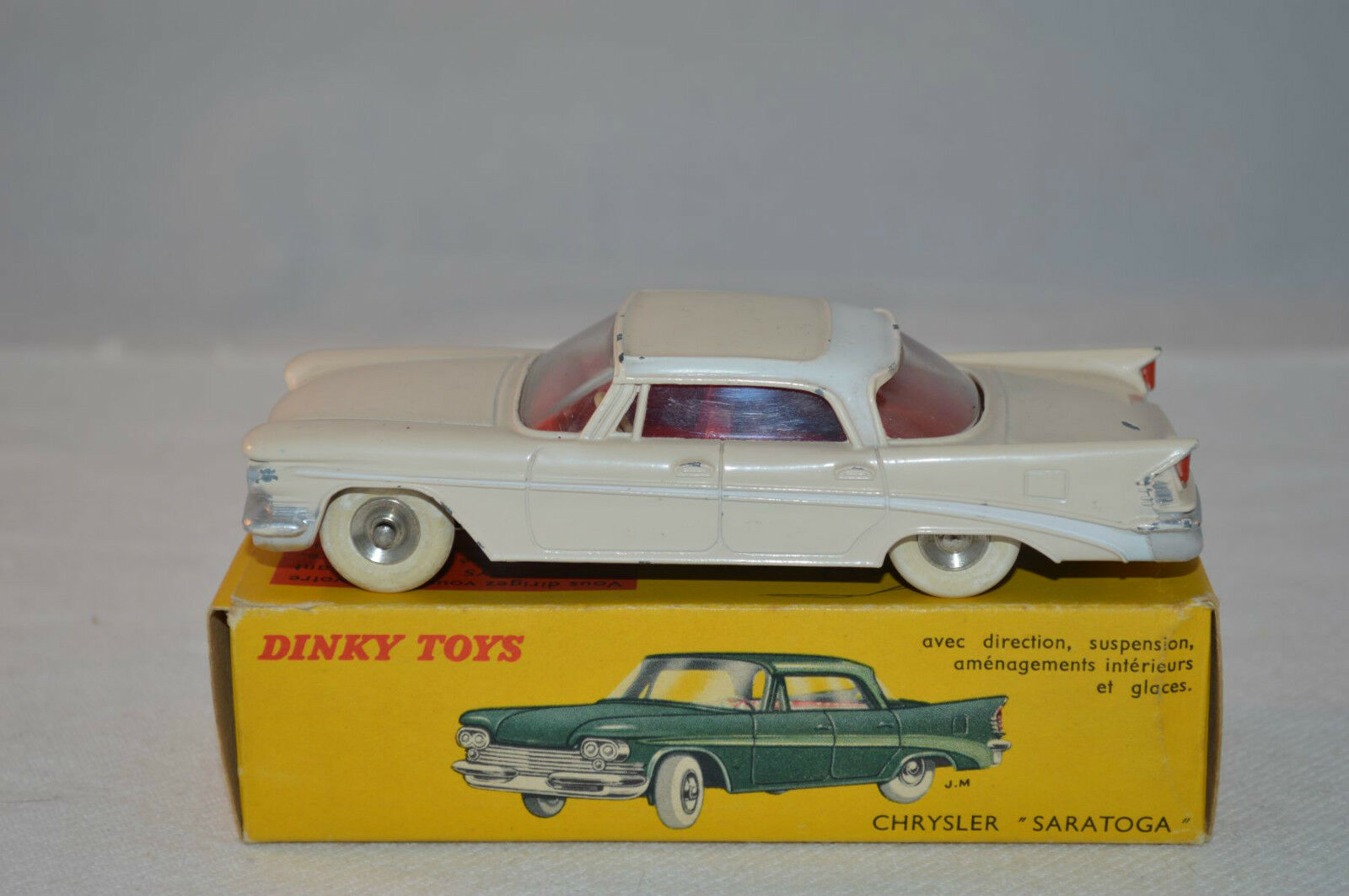 Dinky Toys 550 Chrysler Saratoga excellent plus in box box box all original 01c57c