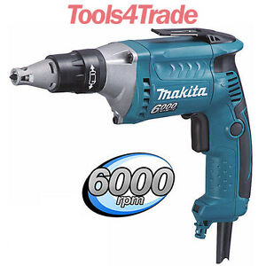 Tools 4 Trade >> Makita FS6300 6000Rpm 570W Drywall Screwdriver 110V | eBay