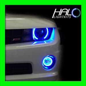 2010 2013 chevy camaro non rs blue smd led halo headlight