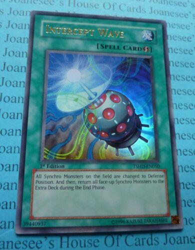 Intercept Wave TSHD-EN050 Ultra Rare Yu-gi-oh Card 1st Edition New