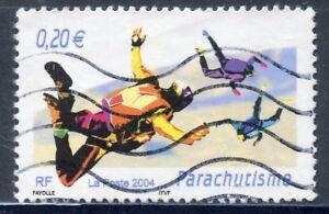 Stamp / Timbre France Neuf N° 3692 ** Sport De Glisse / Parachutisme