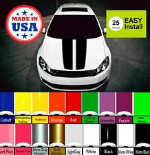 Racing Hood Stripes Universal Truck Car Decal Sticker Set