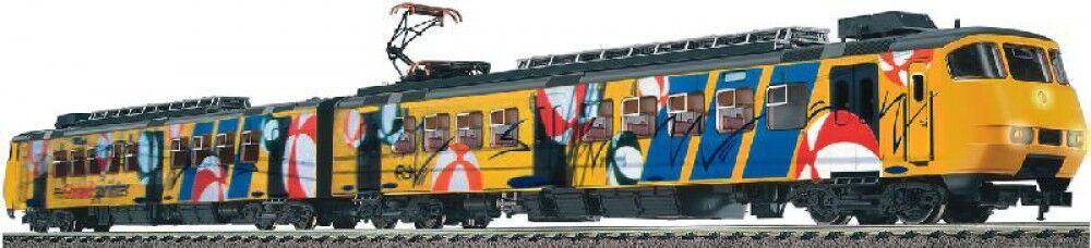 Fleischmann 397102 spårvidd H0 Electric Locomotive järnväg New Original låda för