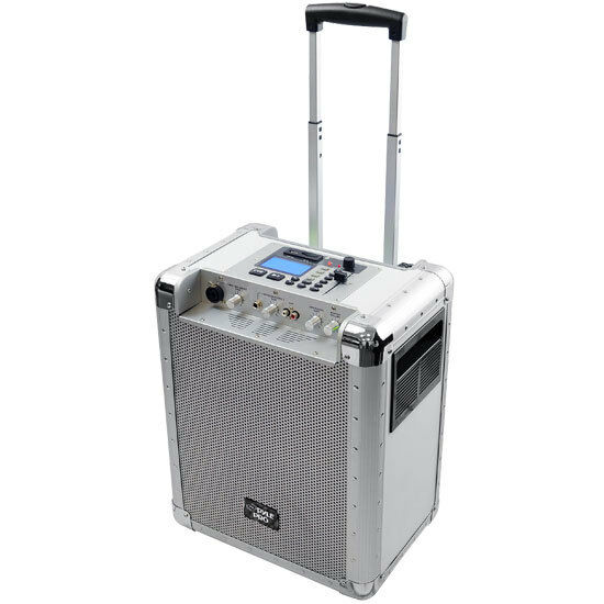 PCMX265W Battery Powerot Portable PA System With USB SD, DJ Controls Aux Inputs