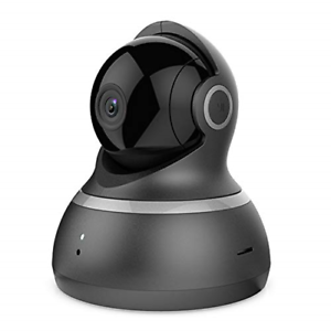 YI Dome Camera 1080p HD with Pan-tilt-zoom Night Vision Motion Detection Two Way
