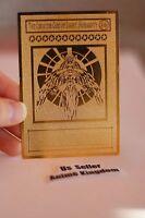 Usa Seller Anime Golden Metal English Card The Creator God Of Light Horakhty