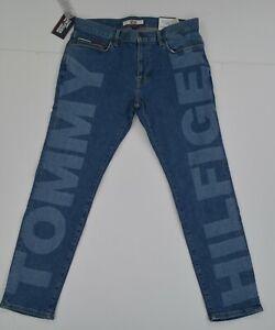 NWT-MEN-039-S-Tommy-Hilfiger-Denim-Stretch-Slim-Tapered-Jeans