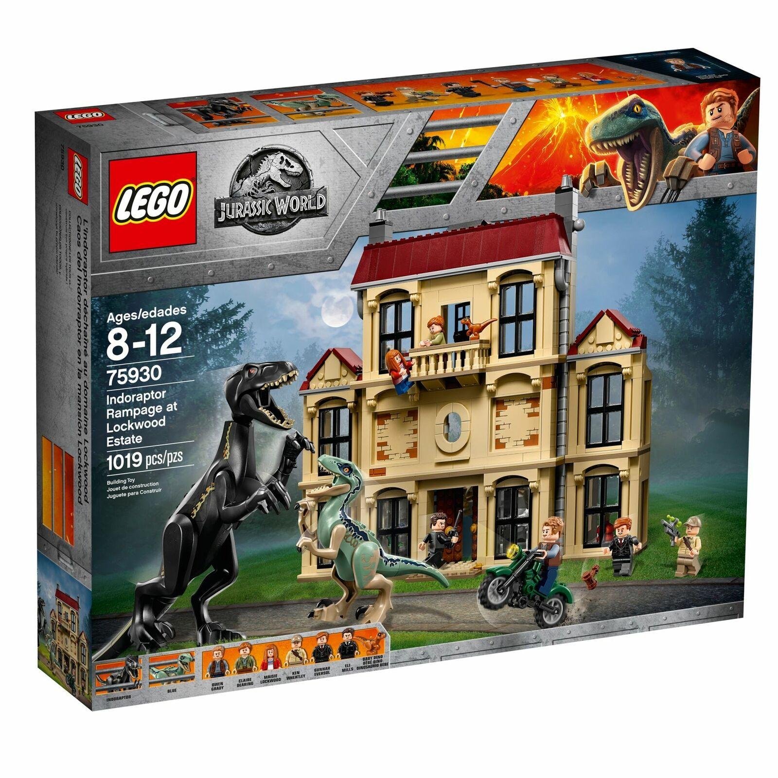 LEGO ®  75930 Jurassic World indoraptor devastazione  rivenditori online