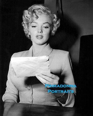 Marilyn Monroe 8x10 Lab Photo Beautiful Blonde Pose Short Curly Hair Ebay
