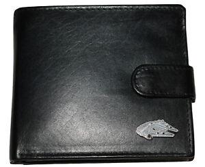 STAR WARS Millennium Falcon Spaceship Wallet Enamel emblem Men's accessory Gift