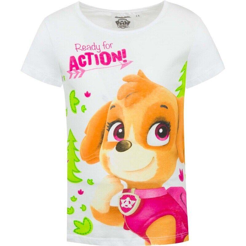 Paw Patrol Enfants Jeunes T-shirt Taille 98 Nouveau été shirt manches courtes