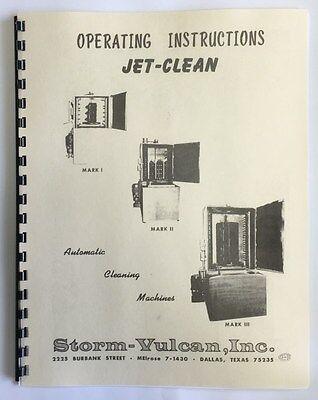 Storm Vulcan Mark II Jet Washer Manual