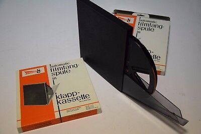 WohltäTig 2 S8 Schneider Buchkassette+selbstfangspule Neu In Ovp 180m ZuverläSsige Leistung