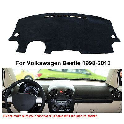 Car Dashboard Mats Dashmat Sun Shade Cover For Volkswagen Beetle 1998-2010 Years