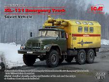 ICM 1/35 ZiL-131 Emergency Truck Soviet Vehicle # 35518