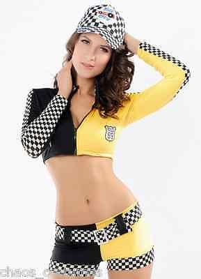 Sexy Miss INDY Super Car Racer Driver Grand Prix Grid Girl V8 Costume 8 - 10