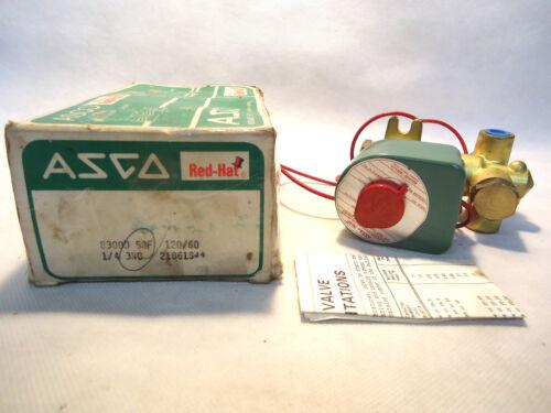 "NEW IN BOX ASCO 8300D58F 120V 3-WAY 1/4"" SOLENOID VALVE"