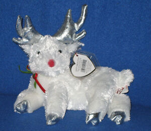 TY RUDY the REINDEER BEANIE BABY MINT with MINT TAGS