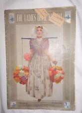 Ladies Home Journal January 1910 Rosie O'Neill Kewpie Lettie Lane Dolls Kewpies