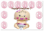 Bébé Géant Ballons Baby Shower Décoration Hélium//air ballon garçon//fille bleu//rose