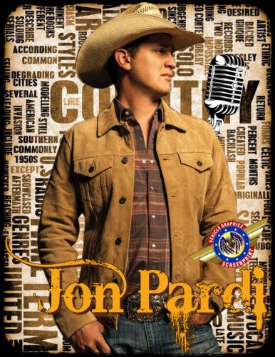 """Jon Pardi /""""Rock POP Country Music/"""" Personalized T-shirts"""