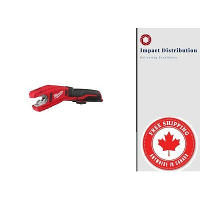 Milwaukee 2471-20 M12 Cordless Copper Tubing Cutter (Tool Only) New