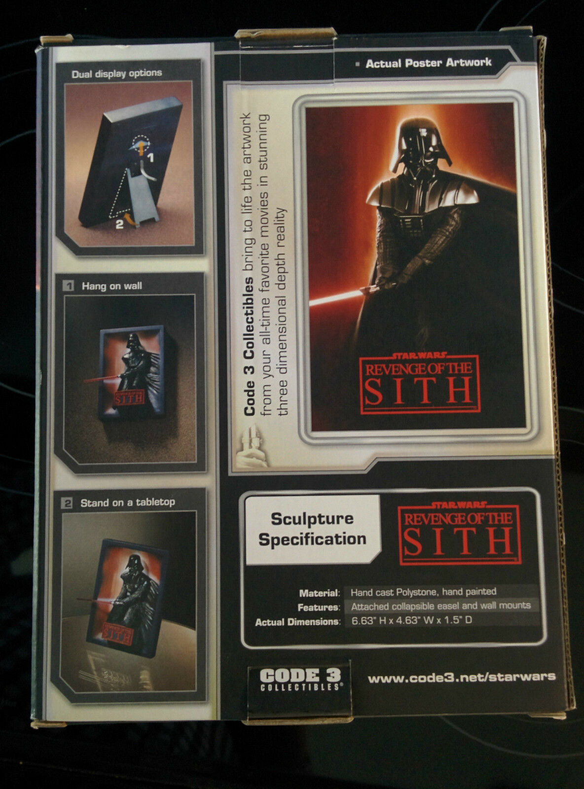 Star Wars Revenge Of The Sith - Code 3 Collectibles & - Ltd Edition (Boxed & Collectibles Mint) 3bf475